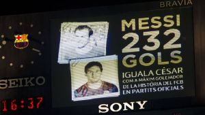 Indywidualne rekordy w FC Barcelonie