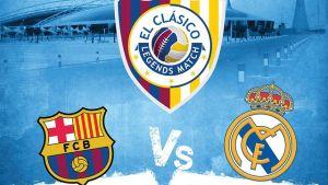 Barça – Madryt, mecz weteranów w Katarze
