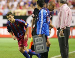 Czterech byłych graczy FC Barcelony w Saragossie