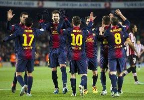 Barcelona strzela najwięcej goli od 62 lat