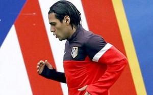 Falcao nie odpuści spotkania z Barçą