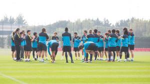 Barça B wraca do treningów w niedzielę