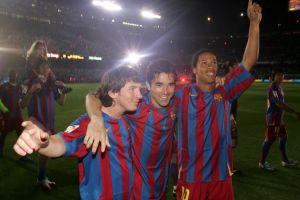 Messi, Deco, Ronaldinho