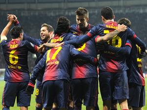 Barça z największą ilością punktów w 2012 roku