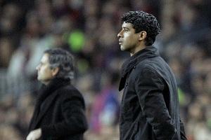 Frank Rijkaard i José Mourinho