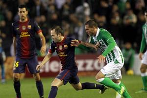 Iniesta liderem drużyny tam, gdzie Madryt przegrywał