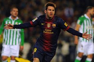 Leo Messi, według fanów najlepszy piłkarz roku