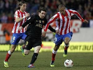 Atlético nie obawia się Messiego