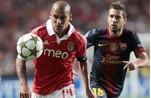 Kadra Benfiki na mecz z FC Barceloną