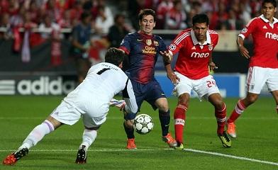 Remis okupiony kontuzją: FC Barcelona 0-0 Benfica Lizbona