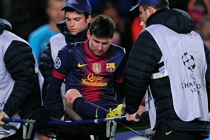 Messi nie będzie trenował do soboty