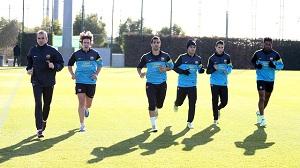 Messi trenował na siłowni