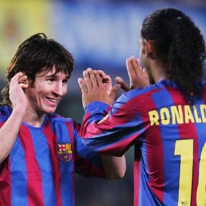 Ronaldinho: Najlepszy na świecie jest dziś Messi