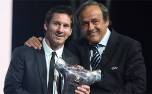 Platini: Messi pobije nasz rekord