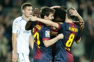 Barça blisko strzeleckiego rekordu
