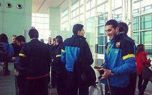 FC Barcelona wylądowała w Sewilli