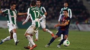 Statystyki: Córdoba 0-2 FC Barcelona