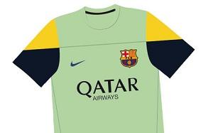 Barça zadebiutuje w nowych strojach na treningach