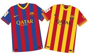 Ostateczny projekt koszulek na sezon 2013/14