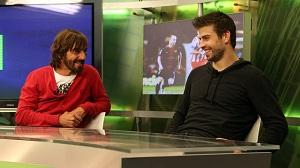 Gerard Piqué dla Barça TV