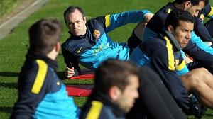 Barça rozpoczyna ostatni tydzień treningów