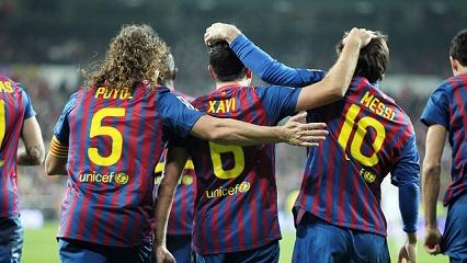 Xavi i Puyol 2016, Messi 2018