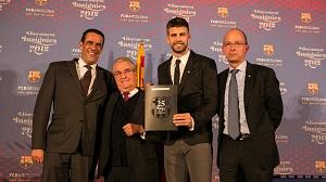 Gerard Piqué otrzymał srebrną odznakę socio