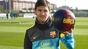 Życzenia od FC Barcelony
