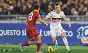 AC Milan przegrywa z AS Romą