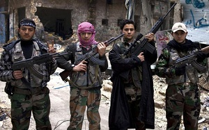 Chciał grać z Messim, walczy na wojnie w Syrii