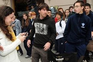 """Messi """"szczęśliwy"""" powrotem do Rosario"""