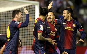 Barça – lider w Europie
