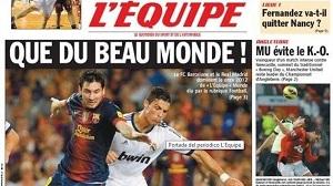 """Czterech piłkarzy Barçy w XI L""""Équipe"""
