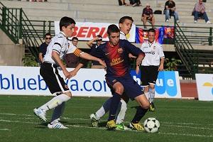 Barça w drodze do ćwierćfinału w Arona