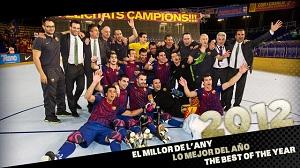 Barça hokej: 12 zdjęć podsumowujących rok 2012