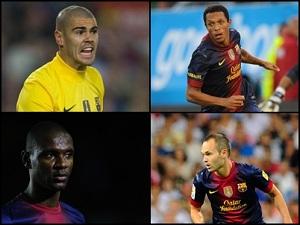 Adriano, Valdés, Abidal i Iniesta negocjują kontrakty