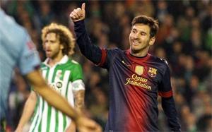 Messi: Ten rekord jest miły, ale ważniejsze jest zwycięstwo
