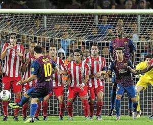 Atlético, czyli ulubiona ofiara Messiego