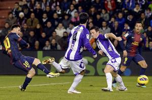 Spostrzeżenia z meczu Valladolid – Barça