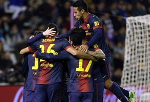 FC Barcelona mistrzem jesieni