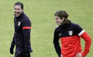 Diego Simeone: Mam nadzieję na najlepszą wersję Falcao na Camp Nou