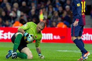 Liverpool chce Valdésa, jako zmiennika dla Reiny