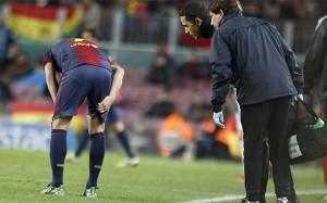 David Villa nie zagra z Málagą