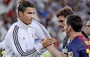 """Messi i Ronaldo w programie """"11 dla zdrowia"""""""