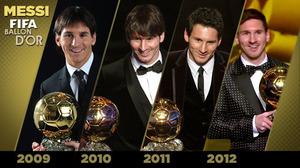 Messi kompletuje unikalnego pokera