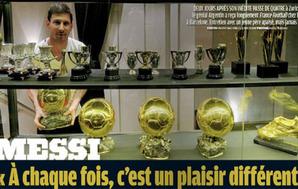 Messi: Złota Piłka nie jest moją obsesją