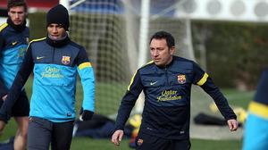 Rafinha wraca do treningów z Barçą B