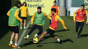 Messi trenował z grupą