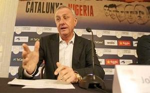 Johan Cruyff: Byłem pod wrażeniem gotowości zawodników