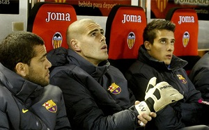 Víctor Valdés, transfer lub ławka?